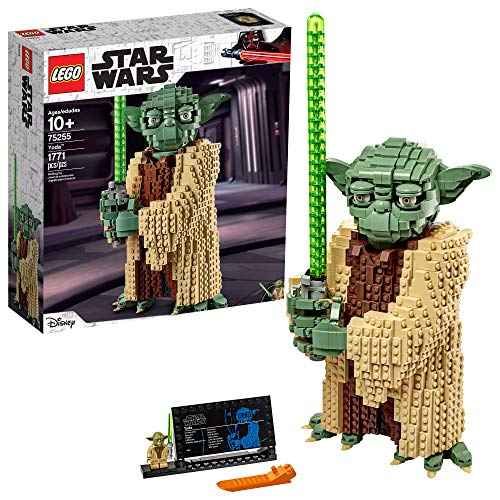 レゴ スターウォーズ 【送料無料】LEGO Star Wars: Attack of The Clones Yoda 75255 Yoda Building Model and Collectible Minifigure with Lightsaber (1,771 Pieces)レゴ スターウォーズ