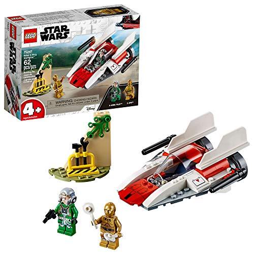 レゴ スターウォーズ 【送料無料】LEGO Star Wars Rebel A Wing Starfighter 75247 4+ Building Kit (62 Pieces)レゴ スターウォーズ