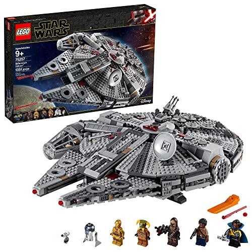 レゴ スターウォーズ 【送料無料】LEGO Star Wars: The Rise of Skywalker Millennium Falcon 75257 Starship Model Building Kit and Minifigures (1,351 Pieces)レゴ スターウォーズ