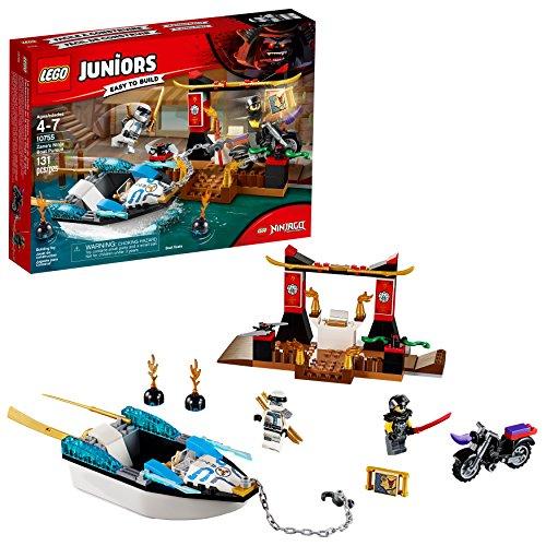 無料ラッピングでプレゼントや贈り物にも 逆輸入並行輸入送料込 レゴ ニンジャゴー 送料無料 LEGO 定番スタイル Juniors 4+ Zane's Ninja Building Piece 安心の実績 高価 買取 強化中 Kit 10755 Pursuit 131 Boat