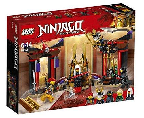 レゴ ニンジャゴー LEGO 2018 NEW NINJAGO Throne Room Showdown 70651レゴ ニンジャゴー