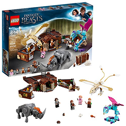 レゴ ハリーポッター 【送料無料】LEGO Fantastic Beasts Newt's Case of Magical Creatures 75952 Building Kit (694 Pieces)レゴ ハリーポッター