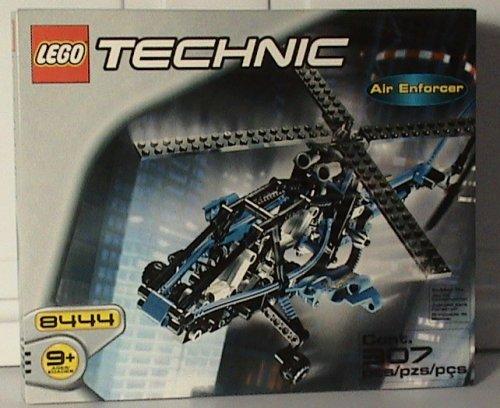 レゴ テクニックシリーズ 【送料無料】LEGO TECHNIC 8444 AIR ENFORCER BLUE RAREレゴ テクニックシリーズ