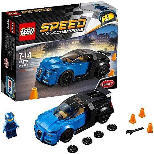 レゴ テクニックシリーズ 【送料無料】LEGO Speed Champions 6175244 Bugatti Chiron 75878, Multiレゴ テクニックシリーズ