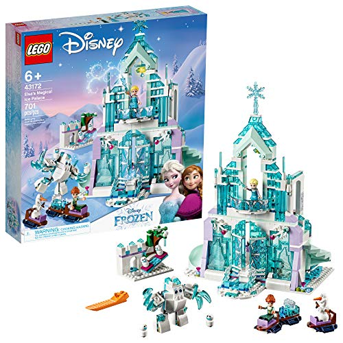 レゴ 【送料無料】LEGO Disney Princess Elsa's Magical Ice Palace 43172 Toy Castle Building Kit with Mini Dolls, Castle Playset with Popular Frozen Characters including Elsa, Olaf, Anna and more (701 Pieces)レゴ