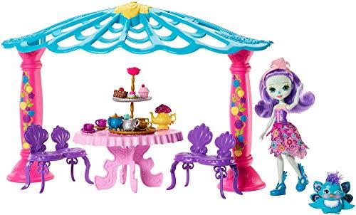 エンチャンティマルズ 人形 ドール 【送料無料】Enchantimals Garden Gazebo Playset + Patter Peacock Doll & Flap Figureエンチャンティマルズ 人形 ドール