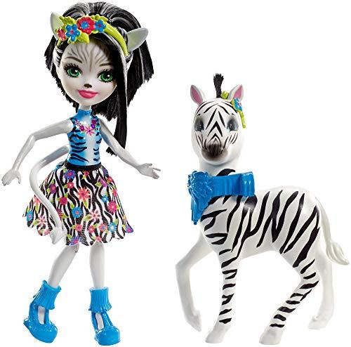 エンチャンティマルズ 人形 ドール Enchantimals Zelena Zebra Dollsエンチャンティマルズ 人形 ドール