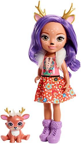エンチャンティマルズ 人形 ドール Enchantimals Huggable Cuties Danessa Deer Doll & Sprint Figureエンチャンティマルズ 人形 ドール