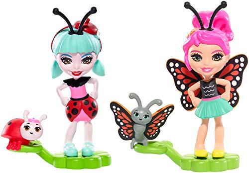 エンチャンティマルズ 人形 ドール Enchantimals 2-Pack Baxi Butterfly & Ladelia Ladybug Micro Dollsエンチャンティマルズ 人形 ドール