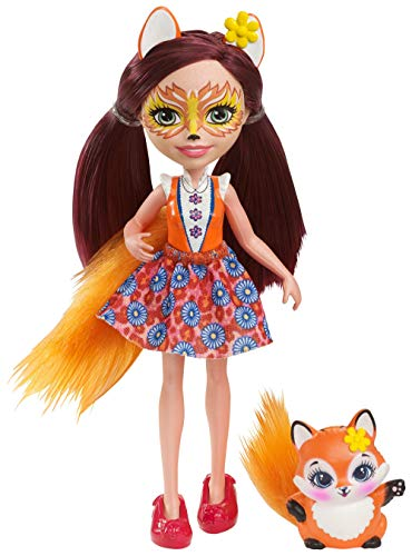 エンチャンティマルズ 人形 ドール 【送料無料】Enchantimals Felicity Fox Dollエンチャンティマルズ 人形 ドール