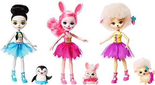 エンチャンティマルズ 人形 ドール Enchantimals Ballet Cuties Doll 3-Packエンチャンティマルズ 人形 ドール