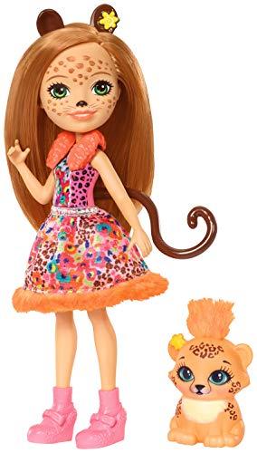 エンチャンティマルズ 人形 ドール Enchantimals Cherish Cheetah Dollエンチャンティマルズ 人形 ドール