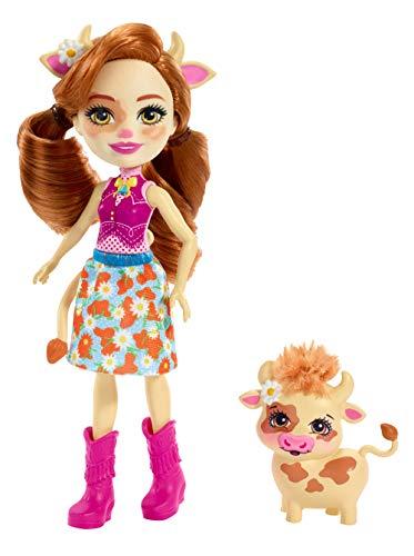 エンチャンティマルズ 人形 ドール Enchantimals Cailey Cow Doll & Curdle Figureエンチャンティマルズ 人形 ドール