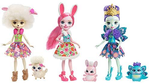 エンチャンティマルズ 人形 ドール Enchantimals Friendship Set Doll 3-Packエンチャンティマルズ 人形 ドール