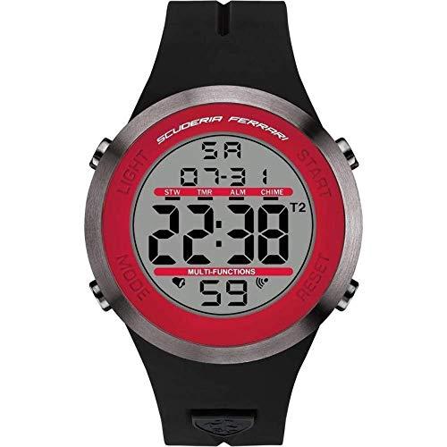 フェラーリ 腕時計 メンズ 【送料無料】Watch Ferrari Scuderia Men's Digital Watch Quartz Mineral Crystal 830371 830371フェラーリ 腕時計 メンズ