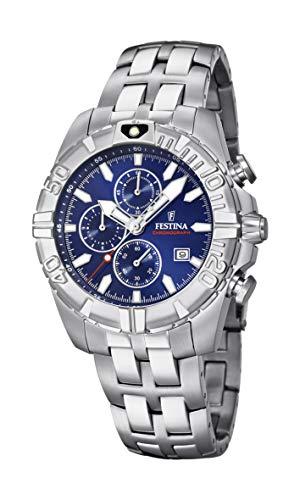 フェスティナ フェスティーナ スイス 腕時計 メンズ 【送料無料】Festina Unisex Adult Chronograph Quartz Watch with Stainless Steel Strap F20355/2フェスティナ フェスティーナ スイス 腕時計 メンズ