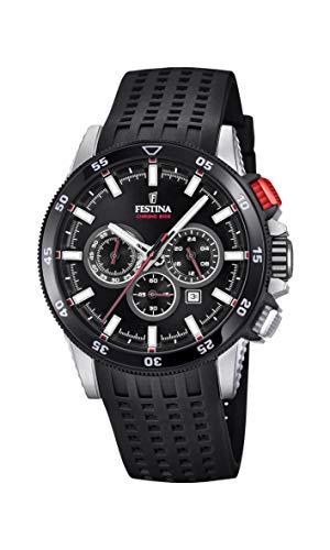 フェスティナ フェスティーナ スイス 腕時計 メンズ 【送料無料】Festina Mens Chronograph Quartz Watch with Silicone Strap F20353/4フェスティナ フェスティーナ スイス 腕時計 メンズ