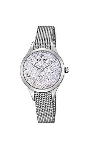 フェスティナ フェスティーナ スイス 腕時計 レディース 【送料無料】Festina Women's Analogue Quartz Watch with Stainless Steel Strap F20336/1フェスティナ フェスティーナ スイス 腕時計 レディース
