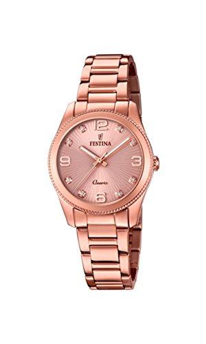 腕時計 フェスティナ フェスティーナ スイス レディース 【送料無料】Festina Boyfriend F20211/1 Wristwatch for women With Zircons腕時計 フェスティナ フェスティーナ スイス レディース