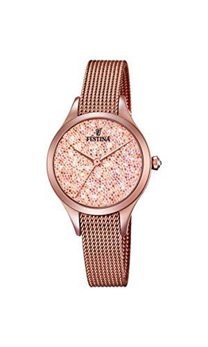フェスティナ フェスティーナ スイス 腕時計 レディース 【送料無料】Festina Women's Quartz Watch with Stainless Steel Strap, Rose Gold, 12 (Model: F20338/2)フェスティナ フェスティーナ スイス 腕時計 レディース