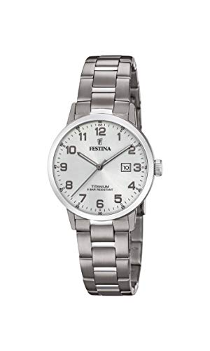 フェスティナ フェスティーナ スイス 腕時計 レディース 【送料無料】Festina | Womens Titanium | Silver Dial | Titanium Bracelet | F20436/1フェスティナ フェスティーナ スイス 腕時計 レディース