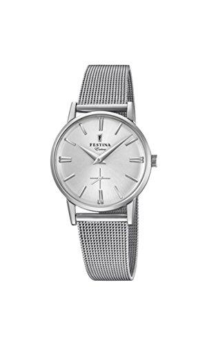 フェスティナ フェスティーナ スイス 腕時計 レディース 【送料無料】Festina Womens Analogue Classic Quartz Connected Wrist Watch with Stainless Steel Strap F20258/1フェスティナ フェスティーナ スイス 腕時計 レディース