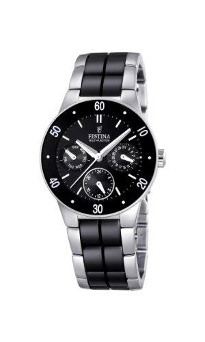 フェスティナ フェスティーナ スイス 腕時計 レディース 【送料無料】Festina Ladies Multi-Function Watch F16530/2 with Black Ceramic Inlayフェスティナ フェスティーナ スイス 腕時計 レディース