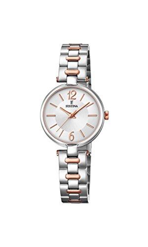 フェスティナ フェスティーナ スイス 腕時計 レディース 【送料無料】Festina Women's Analogue Quartz Watch with Stainless Steel Strap F20312/2フェスティナ フェスティーナ スイス 腕時計 レディース