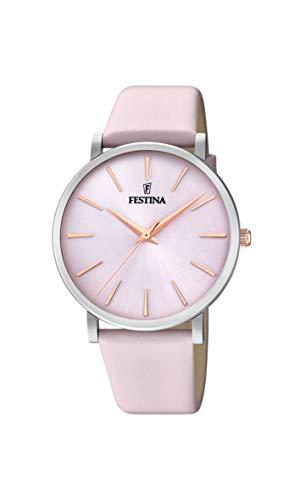 フェスティナ フェスティーナ スイス 腕時計 レディース 【送料無料】Festina Women Watch F20371/2 Pink dial Pink Leather Strapフェスティナ フェスティーナ スイス 腕時計 レディース