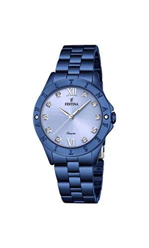 フェスティナ フェスティーナ スイス 腕時計 レディース 【送料無料】Festina Women's Digital Quartz Watch with Stainless Steel Strap F16927/Aフェスティナ フェスティーナ スイス 腕時計 レディース