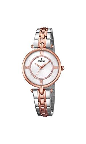 腕時計 フェスティナ フェスティーナ スイス レディース 【送料無料】Festina Women's Analogue Quartz Watch with Stainless Steel Strap F20316/2腕時計 フェスティナ フェスティーナ スイス レディース