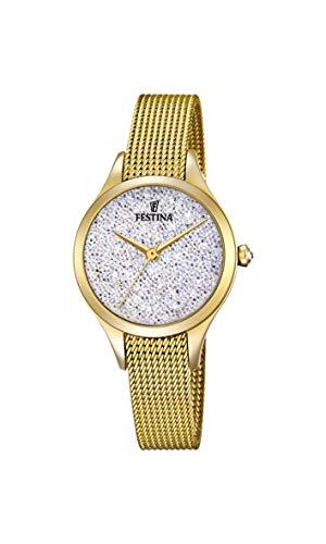 腕時計 フェスティナ フェスティーナ スイス レディース 【送料無料】Festina Women's Analogue Quartz Watch with Stainless Steel Strap F20337/1腕時計 フェスティナ フェスティーナ スイス レディース