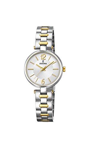 フェスティナ フェスティーナ スイス 腕時計 レディース 【送料無料】Festina Women's Autumn-Winter 17 Quartz Watch with Stainless Steel Strap, Silver, 12 (Model: F20312/1)フェスティナ フェスティーナ スイス 腕時計 レディース