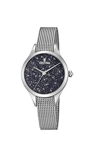 フェスティナ フェスティーナ スイス 腕時計 レディース 【送料無料】Festina Women's Quartz Watch with Stainless Steel Strap, Silver, 15 (Model: F20336/3)フェスティナ フェスティーナ スイス 腕時計 レディース