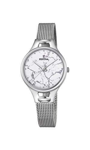 フェスティナ フェスティーナ スイス 腕時計 レディース 【送料無料】Festina Womens Analogue Quartz Watch with Stainless Steel Strap F16950/Eフェスティナ フェスティーナ スイス 腕時計 レディース