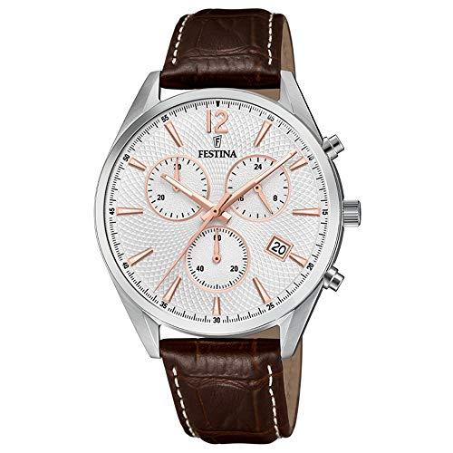 フェスティナ フェスティーナ スイス 腕時計 レディース 【送料無料】FESTINA Watch Male Leather Brown - F6860-5フェスティナ フェスティーナ スイス 腕時計 レディース
