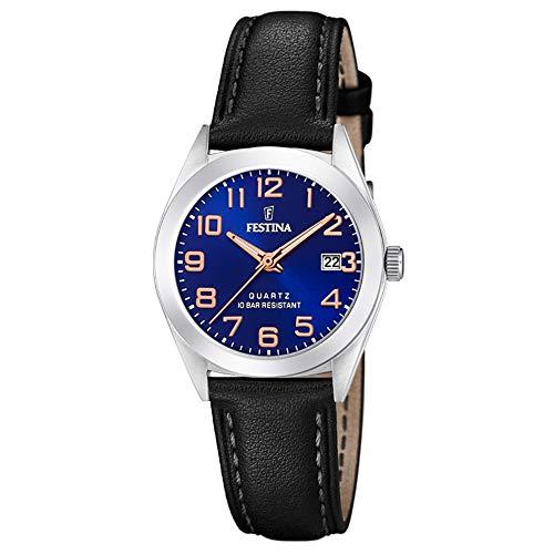フェスティナ フェスティーナ スイス 腕時計 レディース 【送料無料】Festina Womens Analogue Quartz Watch with Leather Strap F20447/2フェスティナ フェスティーナ スイス 腕時計 レディース
