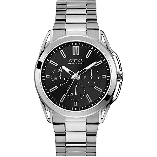 ゲス GUESS 腕時計 メンズ 【送料無料】Guess Vertex Mens Analog Japanese Quartz Watch with Stainless Steel Bracelet W1176G2ゲス GUESS 腕時計 メンズ