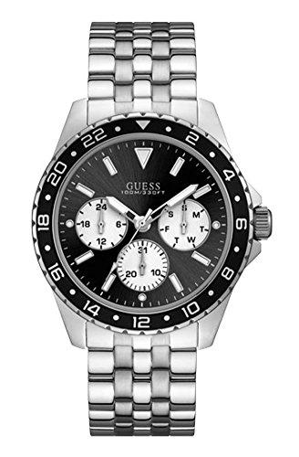 ゲス GUESS 腕時計 メンズ 【送料無料】Guess Silver Stainless Steel Watch-W1107G1ゲス GUESS 腕時計 メンズ