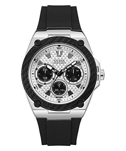 ゲス GUESS 腕時計 メンズ 【送料無料】Guess Men's Analogue Quartz Watch with Rubber Strap W1049G3ゲス GUESS 腕時計 メンズ