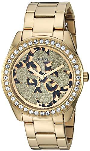 ゲス GUESS 腕時計 レディース 【送料無料】GUESS Women's Japanese Quartz Watch with Stainless-Steel Strap, Gold, 19.9 (Model: U1201L2)ゲス GUESS 腕時計 レディース