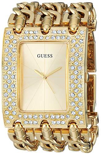 ゲス GUESS 腕時計 レディース 【送料無料】GUESS Women's Quartz Watch with Stainless-Steel Strap, Gold, 46 (Model: U1275L2)ゲス GUESS 腕時計 レディース