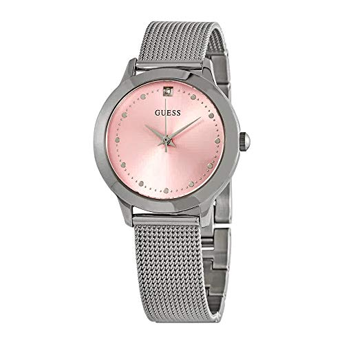 腕時計 ゲス GUESS レディース 【送料無料】Guess Chelsea Quartz Pink Dial Ladies Watch W1197L3腕時計 ゲス GUESS レディース
