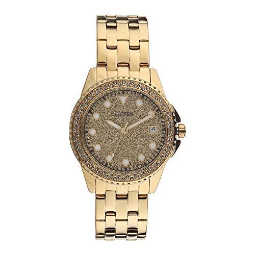 ゲス GUESS 腕時計 レディース 【送料無料】Guess Spritz Quartz Ladies Gold-Tone Watch W1235L2ゲス GUESS 腕時計 レディース