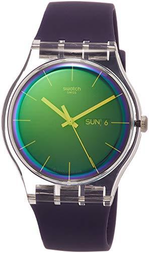 スウォッチ 腕時計 メンズ 【送料無料】Swatch Womens Analogue Quartz Watch with Silicone Strap SUOK712スウォッチ 腕時計 メンズ