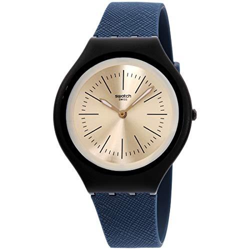 腕時計 スウォッチ メンズ 夏の腕時計特集 【送料無料】Swatch Men's Quartz Watch with Silicone Strap, Blue, 21 (Model: SVUN106)腕時計 スウォッチ メンズ 夏の腕時計特集