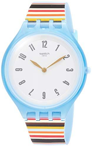 腕時計 スウォッチ メンズ 夏の腕時計特集 【送料無料】Swatch Women's Analogue Quartz Watch with Silicone Strap SVUL100腕時計 スウォッチ メンズ 夏の腕時計特集