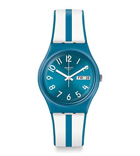 スウォッチ 腕時計 メンズ 【送料無料】Swatch Unisex Adult Analogue Quartz Watch with Silicone Strap GS702スウォッチ 腕時計 メンズ