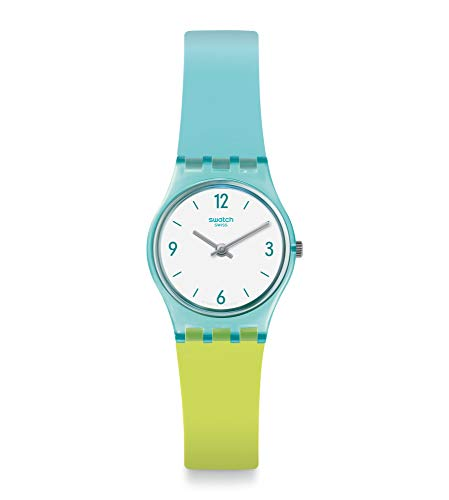 スウォッチ 腕時計 レディース 【送料無料】Swatch Women's Quartz Watch with Silicone Strap, Blue, 12 (Model: LL122)スウォッチ 腕時計 レディース