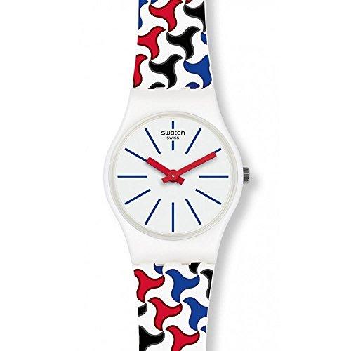 スウォッチ 腕時計 レディース 夏の腕時計特集 【送料無料】Swatch Women's Analogue Quartz Watch with Silicone Strap LW156スウォッチ 腕時計 レディース 夏の腕時計特集
